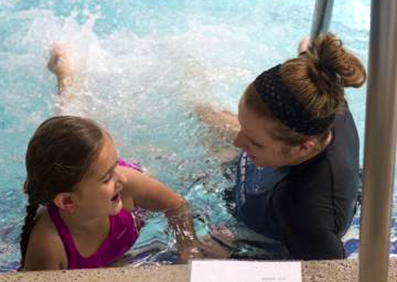Kids Go For Record in Swimming Event