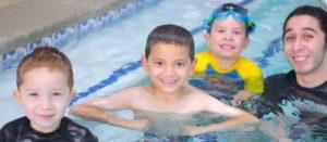 swim lesson for children